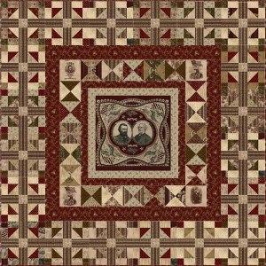 Lincoln Bicentennial quilt