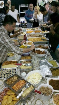 Thanksgiving in the office