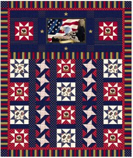 Quilts of Valor  Stars of Valor quilt by Betty New FINAL