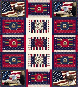 Quilts of Valor eagle has landed by Larene Smith FINAL
