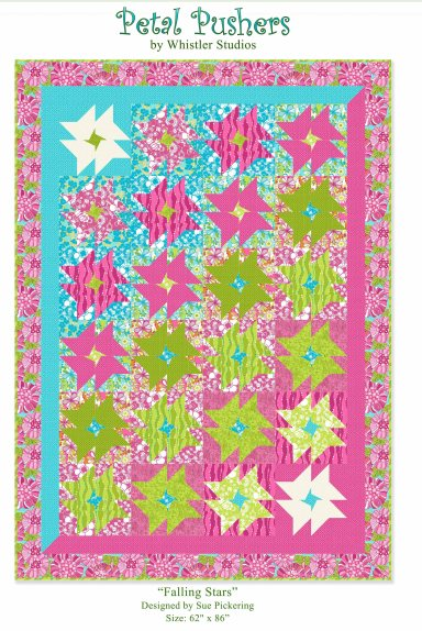 PETAL PUSHERS quilt project
