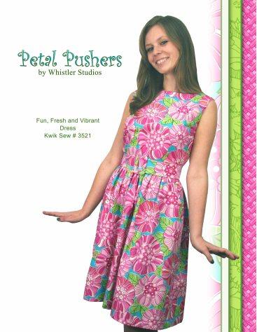 Petal pusher dress page copy