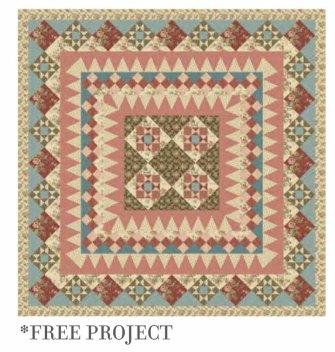 Elizabeth Free Project quilt