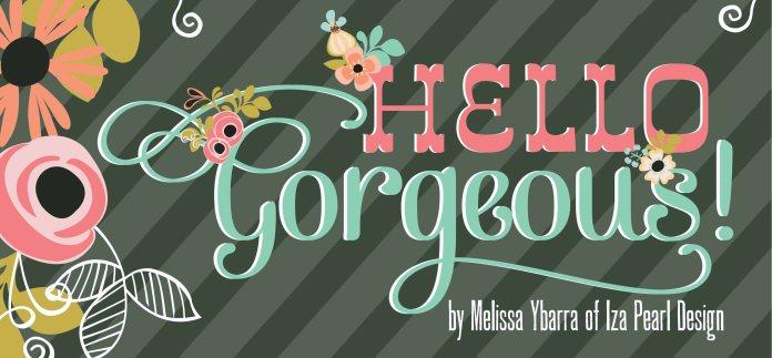 Hello gorgeous logo