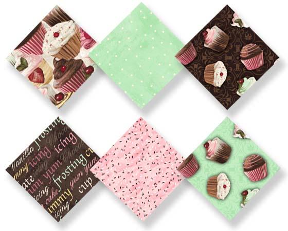 Cupcake squares