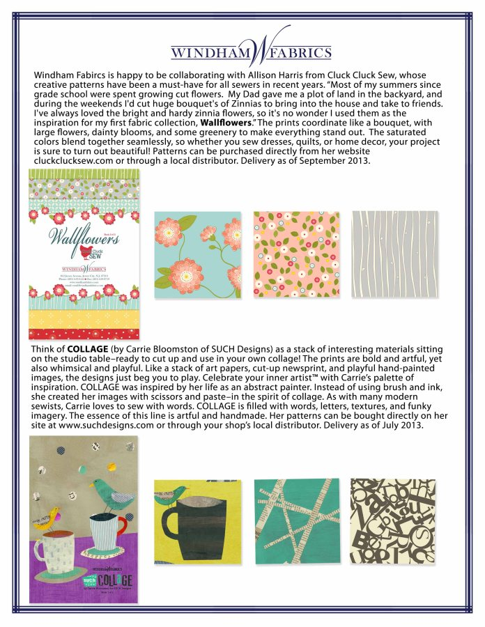 April pg 2 Wall flowers and collage