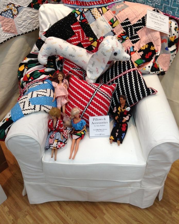 I Like You Chair w Barbies