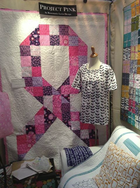 Project Pink Quilt