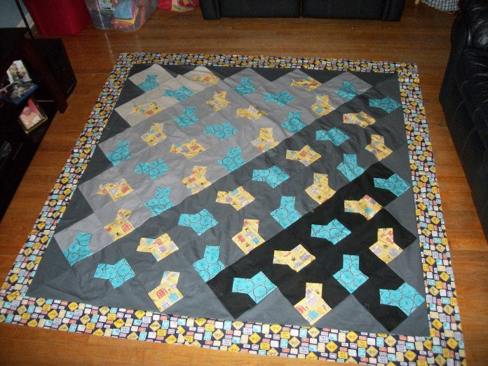 Sharon Quilt top