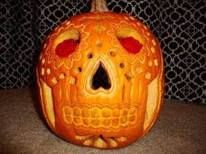 Diadelosmuertos pumpkin