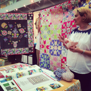 Sarah Fielke shows her Enchanted Quilts
