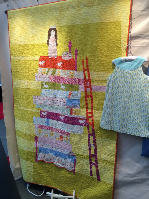 Princess and the Pea Quilt 2