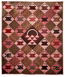 Chocloate Baskets quilt