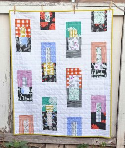 Erica Jackman Kitchen Table Quilting Follie Baby Quilt