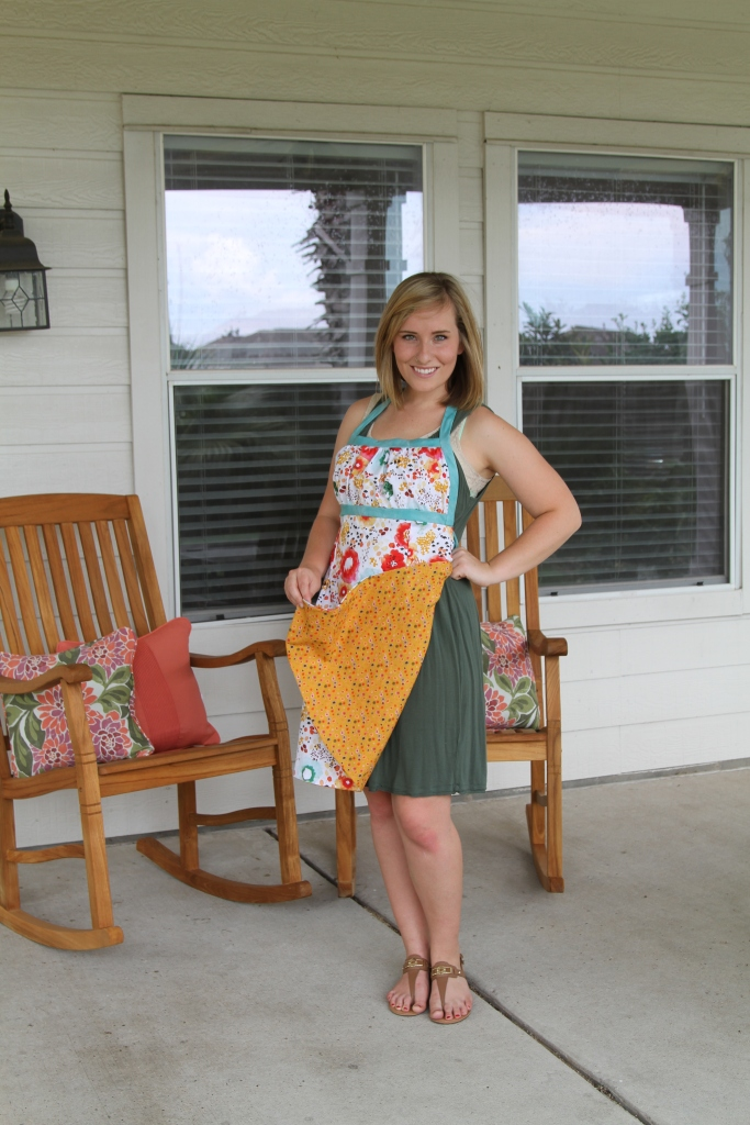 Reversible Emmeline Apron by Sew Liberated
