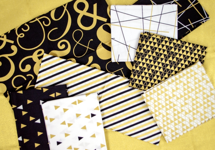 Bold and Gold by Ampersand Design Studio