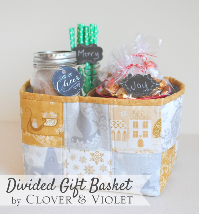 Glisten Divided Basket