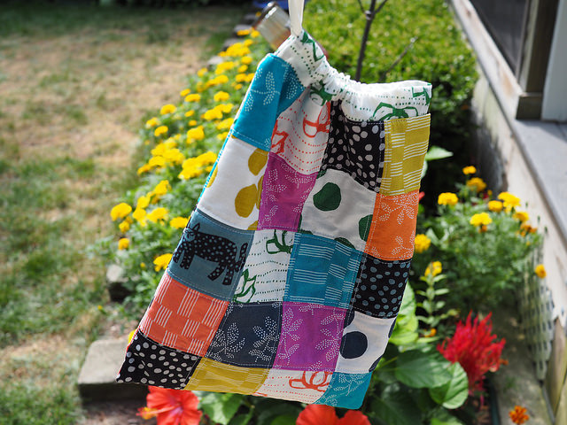Lucky drawstring bag by Stephanie of Creative Reveries