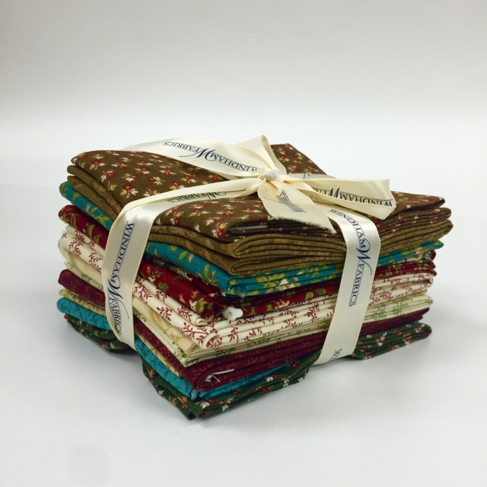 The Golden Age by Nancy Gere Fat Quarter Bundle