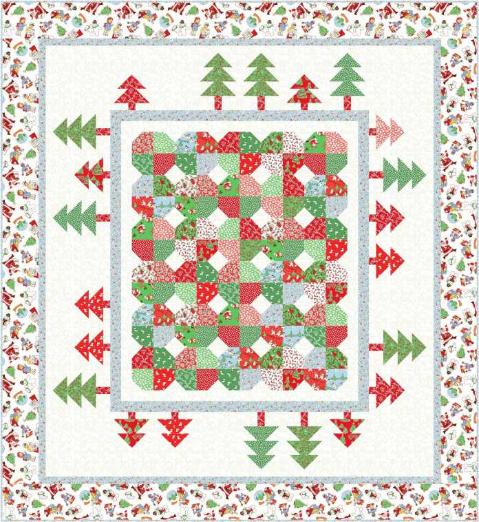 Design 2a_66 x 72Holiday Forest
